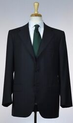 KITON Mens 3 Roll 2 Button Superfine Wool Suit Size 40 50 NEW $6795