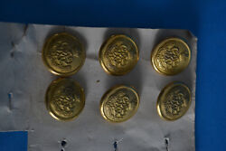 6 Boutons De Marine The Royal Mail Steam Packet Company