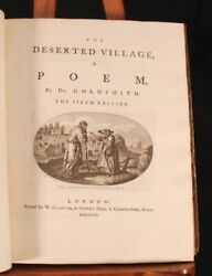 1770-71 Handbound Anthology Of Poetry From The 1700s