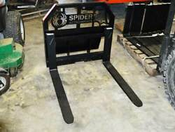 Spider Attachments Heavy Duty Pallet Forks For Mini Loaders, Toro Mounting