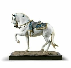 Lladro Spanish pure breed Sculpture. Horse. Limited Edition 01002007
