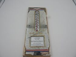 Wwii Era Vintage Advertising Thermometer Picture Patriotic Victory 1942