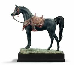 Lladro Arabian Pure Breed Horse Sculpture. Limited Edition 01001919