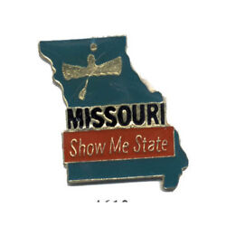 Wholesale Lot Of 12 Missouri State Shaped Lapel Hat Pins Tie Tac Fast Ship