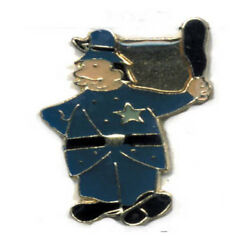 Wholesale Lot Of 12 Policeman Blue Line Lapel Hat Pins Tie Tac Police Fast Ship