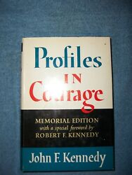 Profiles In Courage By John F. Kennedy/hcdj/biography/political/memorial Edition