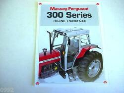 Massey Ferguson 300 Series Cabs For Farm Tractors 1990 4 Brochure Page Very Good