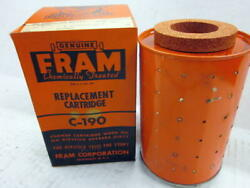 Fram Oil Filter C-190 Fits Buda And Allis-chalmers Engines