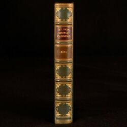 1846 The Life Of George Canning Robert Bell Binding Bayntun Riviere