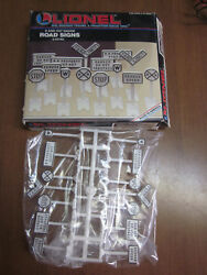 Lionel Railroad Road Signs 14 Signs Great For Layout New In Box O And O27 Layou
