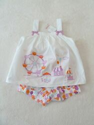 NWT Gymboree Ferris Wheel Carnival Balloons Top Bottom Outfit Set 2T
