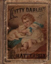 Kitty Darling Chatterbox Vintage Hardcover Book