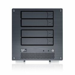 Sans Digital MobileNAS iSCSI 4 Bay Network Storage Server Tower with Intel ATO