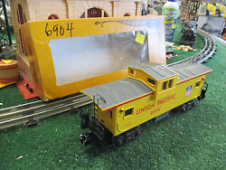 Lionel Modern 6-6904 Up Extended Vision Caboose 1983 New In Original Box