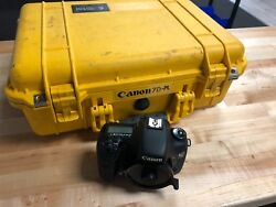 PL Mount Canon 7D - Cine Baseplate RS Control Pelican Case and Accessories