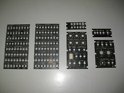 Bell Helicopter 412 Lighted Overhead Circuit Breaker Panels 6 Each Used