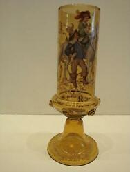 Rare Antique French Numbered Vase W/ Portrait Of Woman