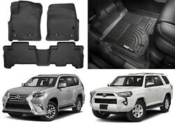 Husky Liners 99571 Weatherbeater Floor Liners For 2013-2019 4runner And Gx460 New