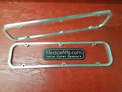 Valve Cover Spacers 3/8 Small Block Buick 350 Sbb With Gasketlok
