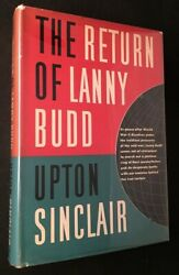 Upton Sinclair / Return Of Lanny Budd First Printing Signed And Inscribed 1st Ed