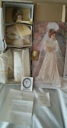 Franklin Heirloom Gibson Bride Doll Nrfb See Photos Accessories Never Removed