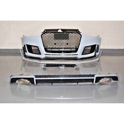 Audi A3 V8 13-15 4 Door Rs3 Style Body Kit