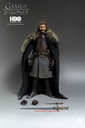 Threezero 1/6 Scale Game Of Thrones Lord Eddard Of House Stark Normal Version