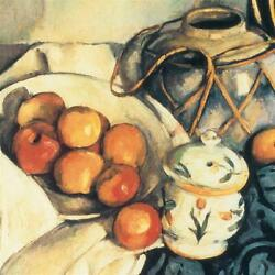 Design Toscano Still Life with Apples 1894: Canvas Replica Painting: Grande