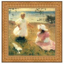 Design Toscano The Sisters 1899 Canvas Replica Painting Large