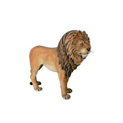 Design Toscano Life-size Andquotking Of The Lionsandquot Sculpture