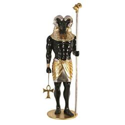Design Toscano The Egyptian Grand Ruler Collection Life-size Khnum Statue