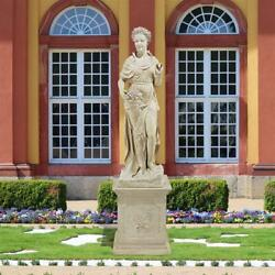 Design Toscano The Four Goddesses Of The Seasons Statue Spring Statue And Plinth