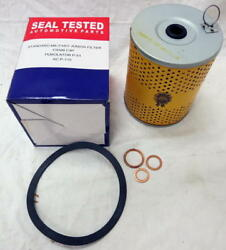 Mb Gpw Willys Ford Wwii Jeep G503 M38 M38a1 Oil Filter Element With Gaskets