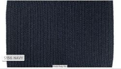 Solid Navy Blue 100 Wool New England Country Home Quality Braided Rug