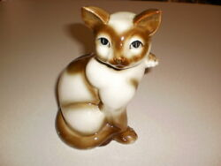 Siamese Porcelin Cat Japan 7#x27;tall