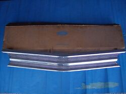 1969 Ford Galaxie 500 Custom Custom 500 Car And Station Wagon Front Grille Nos