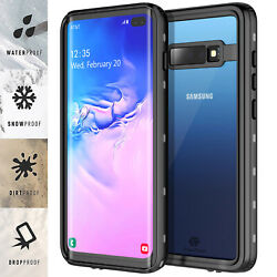 For Samsung Galaxy S10 Plus Case Waterproof Shockproof Heavy Duty Armor Cover