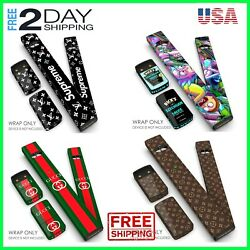 Original JUL Designer Skin Wrap Decal Cover Stickers Pods Vape Accessories NEW