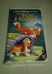 New Vintage The Fox And The Hound Black Diamond Disney Vhs Collectible 1994