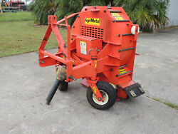 Agri Metal Blower Bw-300 Compact Tractor Pto Lawn And Leaf Blower Very Clean