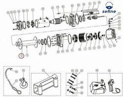 Smittybilt Replacement Parts Winch Drum Assembly 97495-08