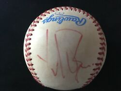 Yul Brynner Signed Baseball Deceased Auto Psa/dna Rare The King And I