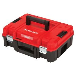 Tool Box Versastack System 17-in Red Plastic Stackable Heavy Duty Tool Box New