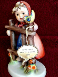 Goebel-hummel Girl Figurine-sign Of Spring Excellent Condition -1990 W.germany