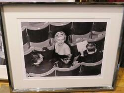 A Magnificent Limited Edition Numbered Black And White Marilyn Monroe Framed Photo