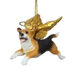 Design Toscano Honor the Pooch: Beagle Holiday Dog Angel Ornament