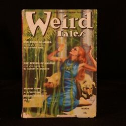 1939 Hp Lovecraft Quest Of Iranon Weird Tales Volume 34 Number 3