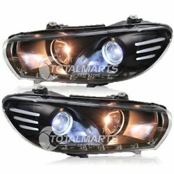 HID Headlights For 2009-2015 VW Scirocco Assembly Bi-Xenon Lens Double Beam V077
