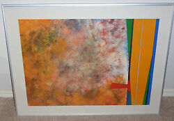 Mexican Gunther Gerzso Original Hand Signed Lithograph