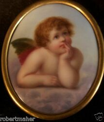 Antique Porcelain Painting Of A Raphael By A. Hammer Make Me An Offer